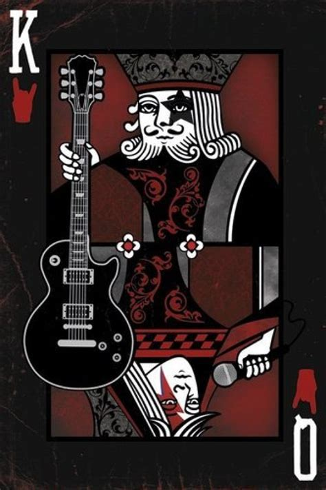 Music posters - Rock posters - King & Queen of Rock poster