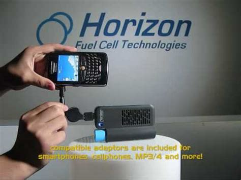 Horizon's NEW MiniPak - compact fuel cell power supply for