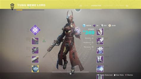 Probably one of the best looking warlock armor sets if you