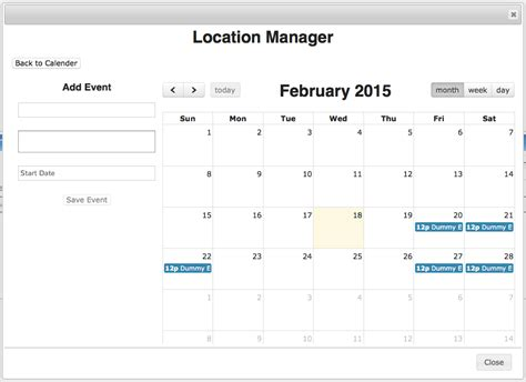 jquery - FullCalendar view not showing on load - Stack