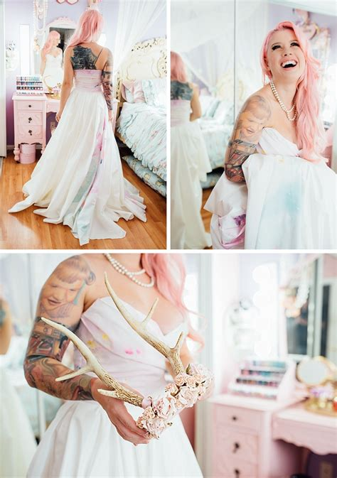 Bridal Inspiration: Getting ready with Kelly Eden in