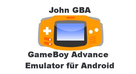 John GBA - GBA Emulator für Android | Android, Spiele