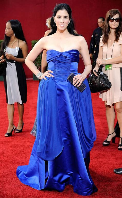 Sarah Silverman from Worst Dressed Stars Ever at the Emmys