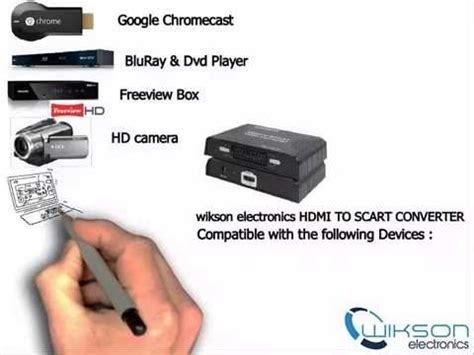 how to connect chromecast to Scart TV - YouTube