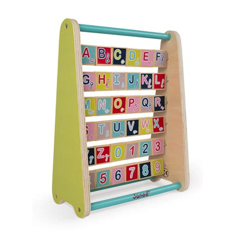 Baby Forest Abc-Abacus - Englisch (Holz)